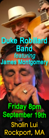 James Montgomery Band poster